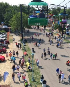 MN State Fair from the SkyRide